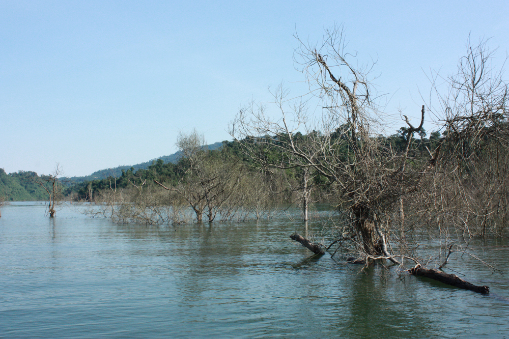 Binh Dien Hydroelectricity Lake
